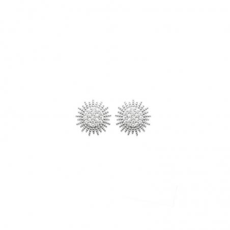 Photo de Boucles d'oreilles empierrées CLOUS NOELIE chez Perrine et Antoinette