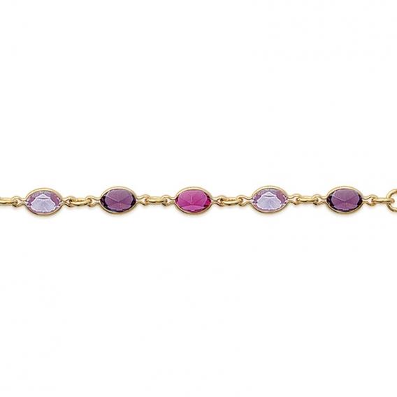 Photo de Bracelets empierrés BRACELET PEONIE chez Perrine et Antoinette