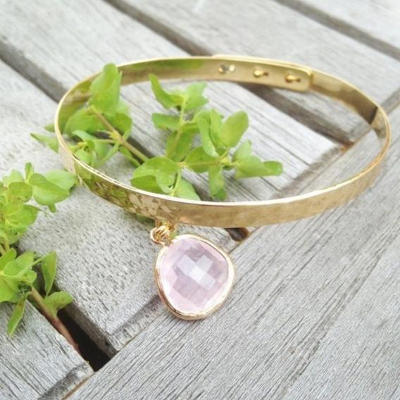 Photo de Bracelets empierrés JONC POMME chez Perrine et Antoinette