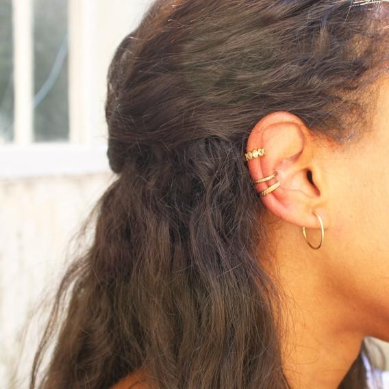 Photo de Bagues d'oreilles BAGUE D'OREILLE MADIANA chez Perrine et Antoinette