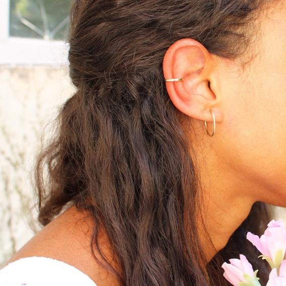 Photo de Bagues d'oreilles BAGUE D'OREILLE HOANI chez Perrine et Antoinette