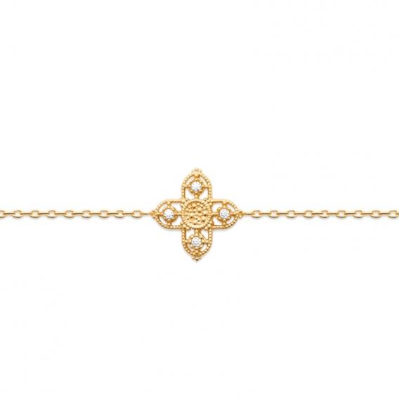 Photo de Bracelets strass BRACELET CLOVIS chez Perrine et Antoinette