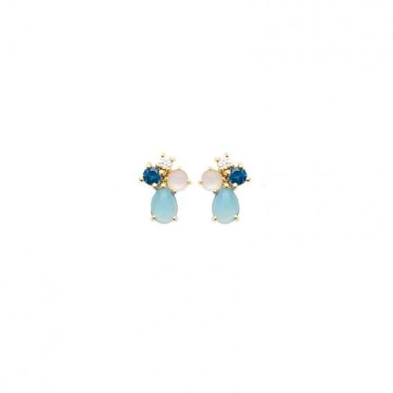 Photo de Clous d'oreilles BOUCLES ODETTE chez Perrine et Antoinette