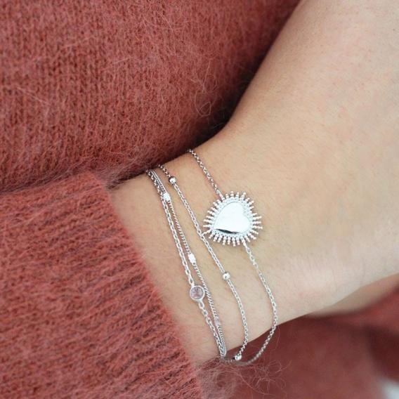 Photo de Bracelets sans strass BRACELET CIDELIE chez Perrine et Antoinette