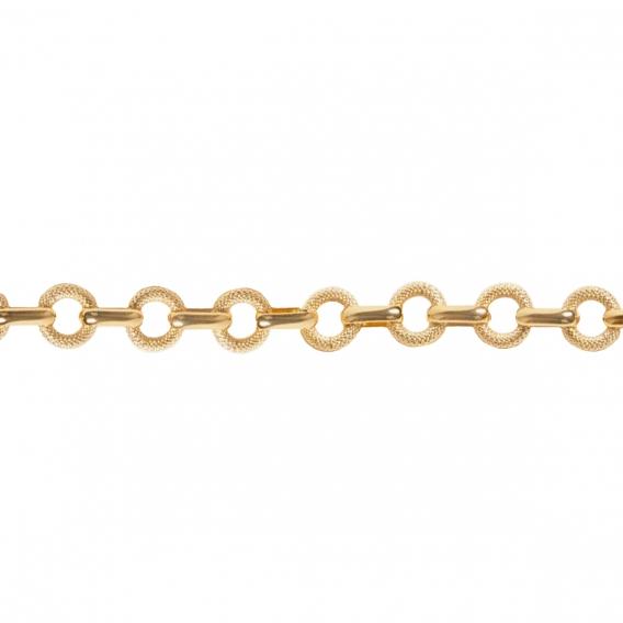 Photo de Bracelets maillons larges BRACELET MILO chez Perrine et Antoinette