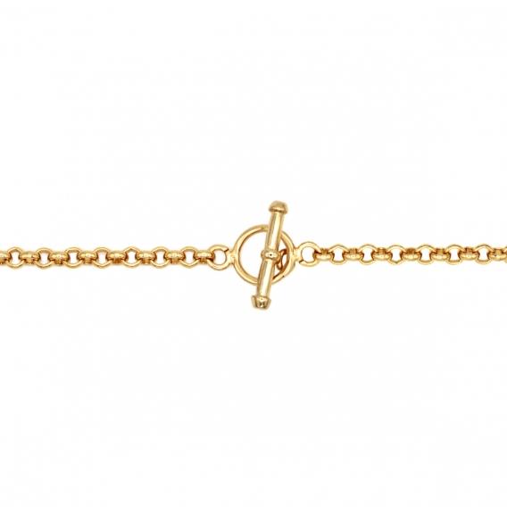 Photo de Bracelets maillons larges BRACELET ALARIC chez Perrine et Antoinette