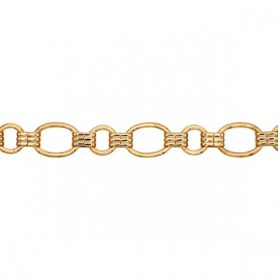 Photo de Bracelets maillons larges BRACELET JACINTHE chez Perrine et Antoinette