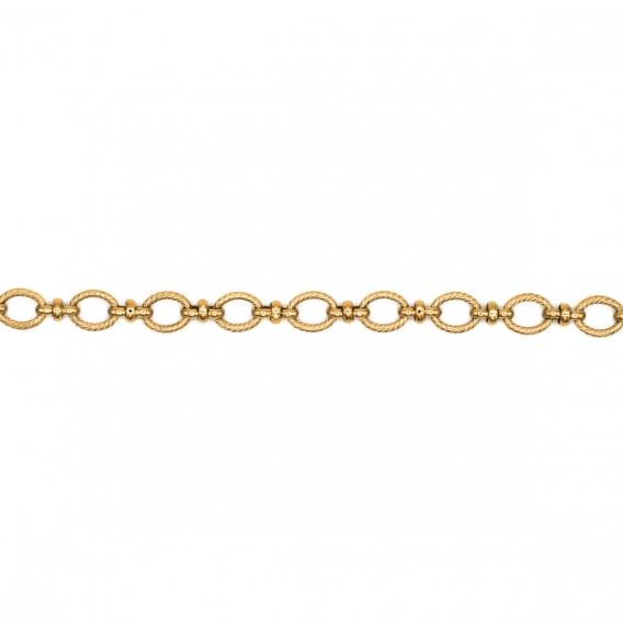 Photo de Bracelets maillons larges BRACELET GAUTHIER chez Perrine et Antoinette