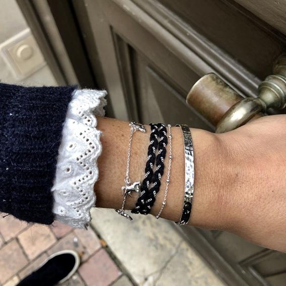 Photo de Bracelets sans strass BRACELET VALENTINE chez Perrine et Antoinette