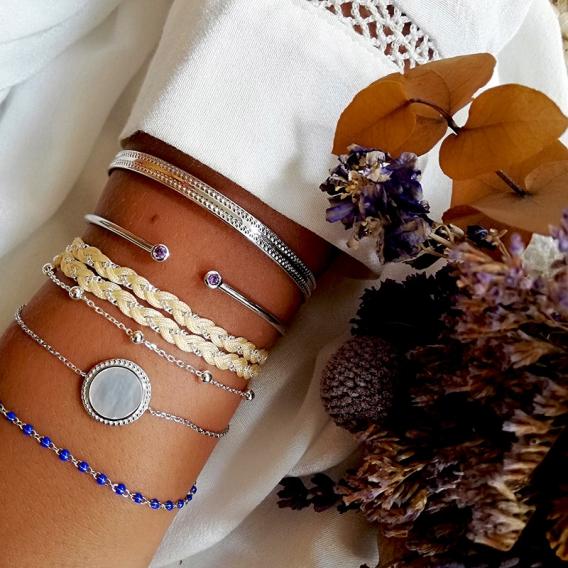 Photo de Bracelets empierrés BRACELET ENORA chez Perrine et Antoinette