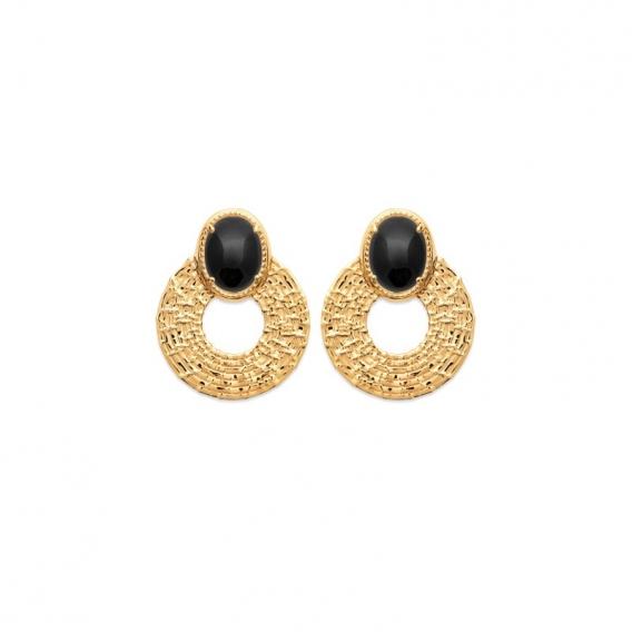 Photo de Boucles d'oreilles empierrées BOUCLES GRACIA chez Perrine et Antoinette